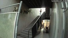 Acorde Sorrindo: A escada é minha eu desço do jeito que eu quero