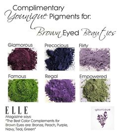 Brown eyes beauties  https://www.youniqueproducts.com/SherriEgeland/products/view/US-4012-00#.VCDvVBYkTYE