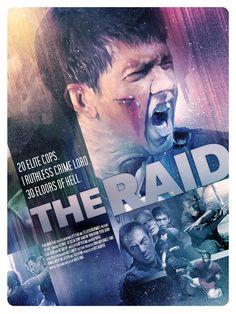 The Raid - movie poster - Richard Davies