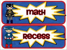 Superhero Envy,Clipart, Units, and Freebies!