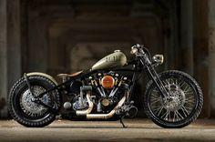 1976 Harley-Davidson Custom shovelhead bobber chopper - This is what is in ERICK's garage. I think I should build it. Bobber Custom, Custom Choppers, Custom Harleys, Custom Motorcycles, Indian Motorcycles, Custom Bikes, Custom Softail, Harley Davidson Sportster, Harley Bobber