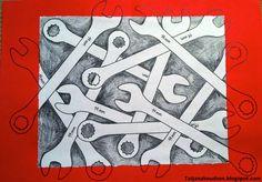 Meet The Creative Part of Me : Jim Dine - anderledes måder at arbejde med værktøjer på.