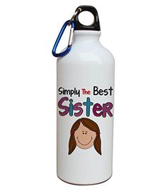 Rakhi gifts for sister Aluminium water bottle | gift for brother | gift for sister | rakshabandhan festival gifting online. #Rakhigifts #girlsfashionsense #rakshabandhangifts   #sistersgifts #rakhi2016