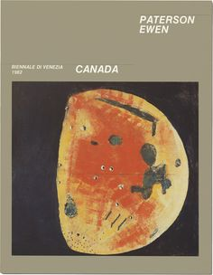 Cover of the catalogue from the 1982 Venice Biennale. Venice Biennale, Canadian Artists, Printmaking, Landscape Paintings, Book Art, Sculpture, Cover, Life, Printing