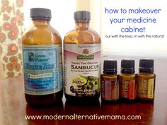How To Makeover Your Medicine Cabinet | Modern Alternative Mama