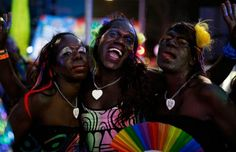 For the first time ever, the transgender Tiwi Island sistagirls marched in the Pride parade