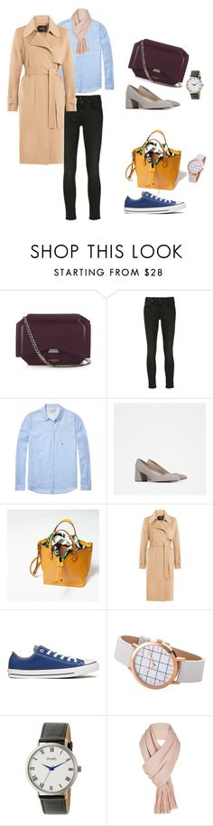 """Untitled #72"" by wooniverse on Polyvore featuring Givenchy, R13, Maison Scotch, Zara, Theory, Converse, Simplify and Free People"