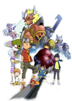 Digimon Frontier Render by bryan1213 on DeviantArt