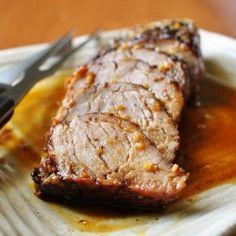 Island Pork Tenderloin! DELICIOUS....my absolute favorite way to cook pork tenderloin!! A little sweet, a little heat, all yumminess! AND it's healthy!!