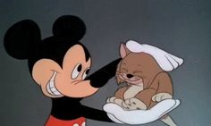 Disneyland fun facts. Over 200 feral cats live in Disneyland to take care of the vermin population. Run, Mickey, run!