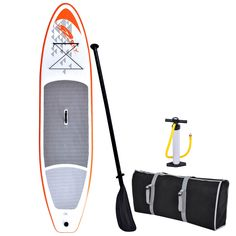 Whether you're exploring your favorite lake or surfing waves at the beach, the 11-foot Stingrey Stand-up Paddle Board is up for the task. A large, comfortable anti-slip deck pad features superior grip