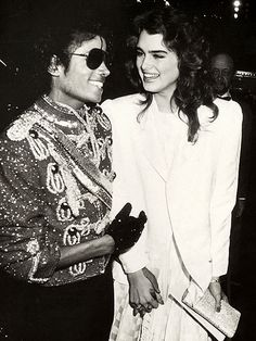 Brooke Shields, Michael Jackson