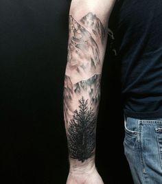 Landscape sleeve
