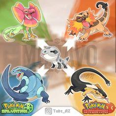 Amazing fan made Pokemon by Pokemon Rpg, Pokemon Rayquaza, Pokemon Comics, Nintendo Pokemon, Charizard, Pokemon Fusion Art, Pokemon Fan Art, Pokemon Images, Pokemon Pictures