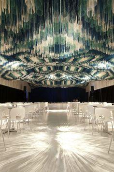 Thread ceiling installation
