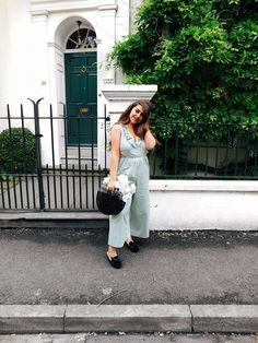 Who would have ever thought that I would be creating a whole look and blog post with a previous fashion nightmare - a jumpsuit. Yet here I am, rocking this beautiful mint green piece from ASOS. #ShopStyle #shopthelook #SpringStyle #SummerStyle #WeekendLook #OOTD #asos #asseenonme