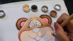 Ursinha Mel - Aula 2 - Pintura em tecido