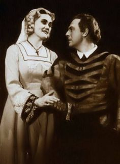 Joan Sutherland as Eva with Erich Witte Covent Garden London 1957