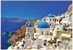 Amazing Santorini - Travel In Greek Islands Series Pôster