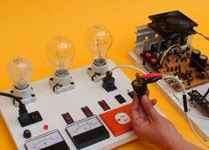 Construya un tablero de pruebas para su taller de electronica
