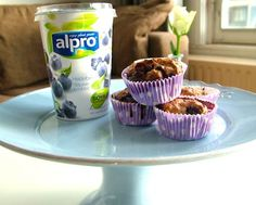 Muffins met sojayoghurt