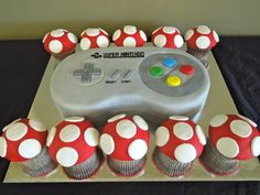 SNES Controller Cake on Global Geek News...I may seem like a geek here but, I want this to be my wedding cake!