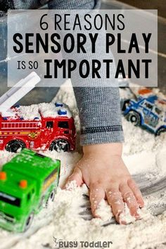 Do you ever wonder why is sensory play important for children? From life skills to pre-math skills to teaching self-control: kids learn lots from sensory bins. Here are six reasons for why sensory play is important. Sensory Tubs, Sensory Activities, Infant Activities, Sensory Play, Learning Activities, Sensory Boards, Baby Sensory, Summer Activities, Teaching Ideas