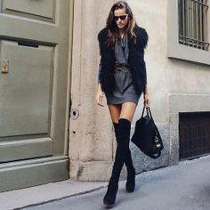 Iza Goulart à Milan http://www.vogue.fr/mode/mannequins/diaporama/la-semaine-des-tops-sur-instagram-18/17696/image/964743#!iza-goulart