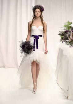 Eme Di 2017 White Wedding Dresses Dress Styles Purple Bridesmaid