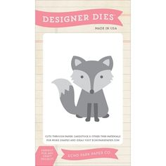 Echo Park FOX Die Set TSF93036