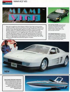 Don Johnson, Plastic Model Kits, Plastic Models, My Favorite Image, Favorite Tv Shows, Ferrari Mondial, In The Air Tonight, Neon Noir, Bus Living