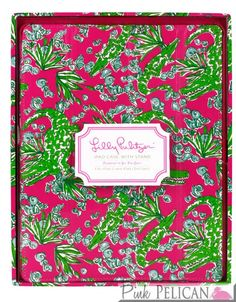 Lilly Pulitzer Lifeguard Press iPad Case with Stand in See You Later $40.00