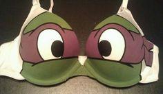 Teenage Mutant Ninja Turtles Bra