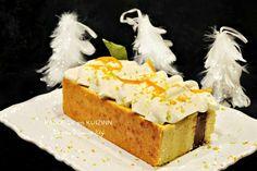 Gâteau de fêtes au gianduja et chantilly à l'orange