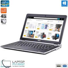Dell Latitude E6230 Intel i5 4GB RAM 320GB HDD Webcam VGA HDMI Win10 Memory Storage, Dell Laptops, Dell Latitude, Card Reader, Hdd