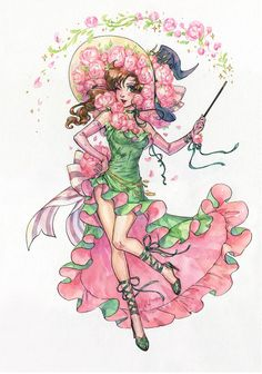 Sailor Witch Series: Sailor Jupiter by Kutty-Sark on DeviantArt Sailor Jupiter, Sailor Moons, Sailor Moon Manga, Sailor Moon Fan Art, Sailor Neptune, Sailor Moon Halloween, Sailor Moon Kristall, Witch Series, Moon Princess