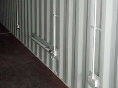 40 ft Shipping Container conversion - with electrics, lighting, heating, shelves, anti-damp treatment and doors.    http://www.dainton.com/shipping-container-conversion-uk.html
