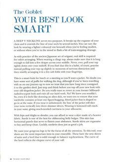 Trinny & Susannah's Body Shape Bible - Goblet p.9