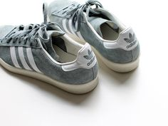 #beauty #shoes #woman #style #fashion #trainers #sport #adidas #gray #white