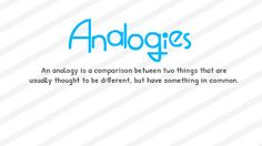FREE Study materials For Competitive Exams: Simple methods to solve Analogy