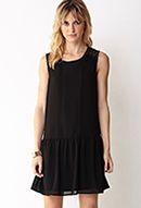 Sweet Lace Drop Waist Dress- Alternative option besides fringe dresses