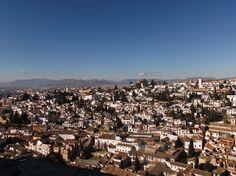 Vista de Granada desde Alhambra