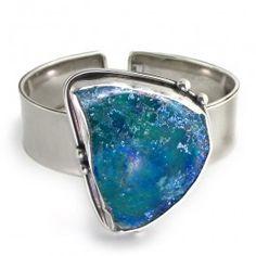 Roman Glass Bangle Bracelet