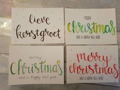 Doodle Lettering, Brush Lettering, Christmas Quotes, Christmas And New Year, Diy Cards, Christmas Cards, Merry Chistmas, Happy Year, Brush Pen