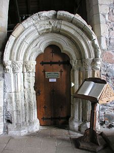 Iona Sacristy Doorway