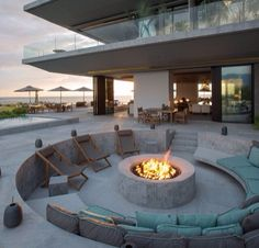 Outdoor seating idea's