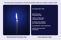 Download the World Suicide Prevention Day Light a Candle near a Window at 8PM animation https://www.iasp.info/wspd/light/light_a_candle_on_wspd_animation6X4.gif