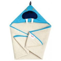 3 Sprouts Hooded Towel – Soft Cotton Hooded Baby Bath Towel for Toddler, Infant 3 Sprouts, Morse, Blue Towels, Terry Towel, Baby List, Washing Clothes, New Baby Products, Hoods, Infant