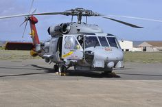 Sikorsky SH-60B Seahawk Helicopter Makes Final Landing At its New Home, Pacific Aviation Museum Pearl Harbor