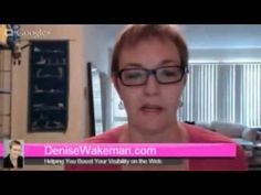 Adventures in Visibility with Denise Wakeman - Pinterest Tip http://denisewakeman.com/online-visibility/adventures-in-visibility-hangout-pinterest-tip-video/